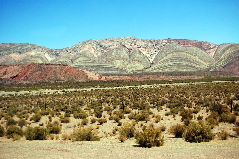 Stripy hill