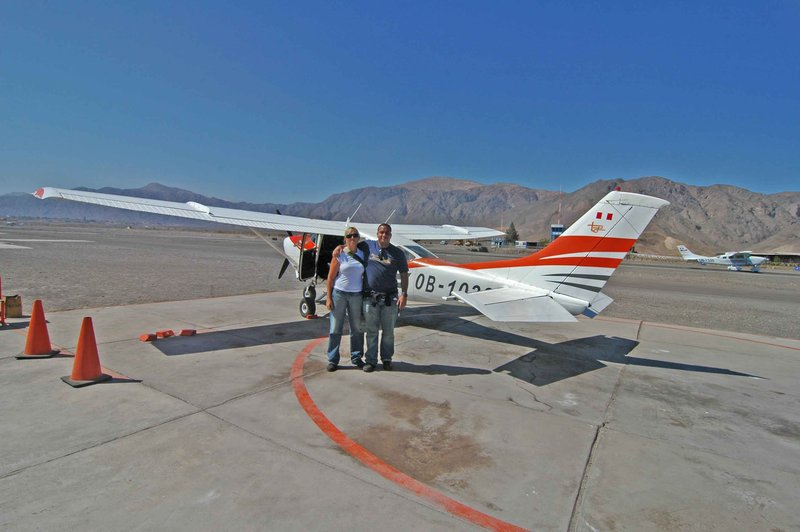 Us with little plane