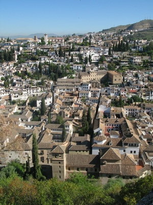 View over Granada