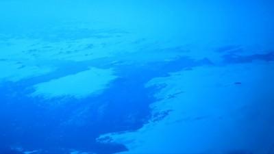 Icefields on Greenland coast