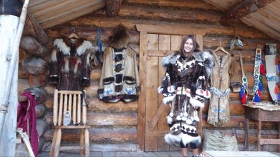 Athabascan ceremonial dress