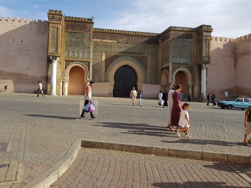 Bab el Mansour gates