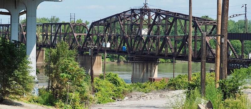 Railroad Bridge over the Missouri in Kansas City