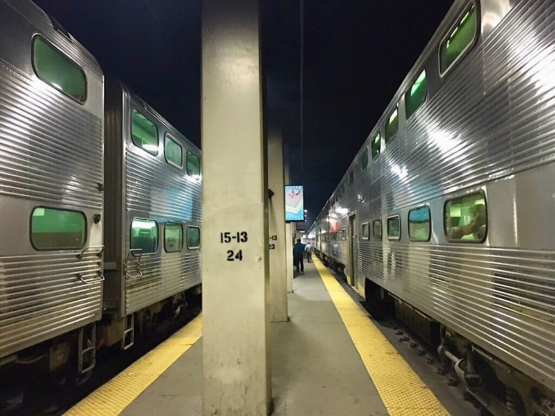 Metra Trains at Chicago Union Station
