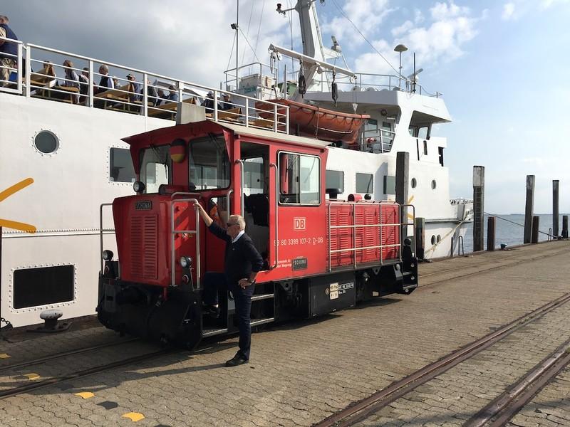 Wangerooge Inselbahn Diesellok