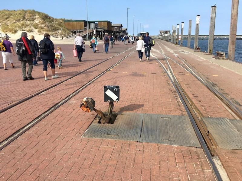 Wangerooge Hafenbahnhof