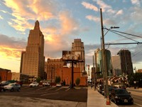 Sunset in Kansas City, MO
