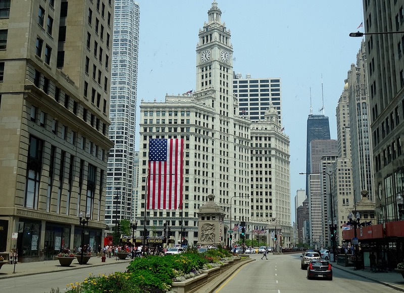 July 4th in Chicago, Illinois