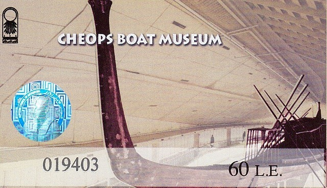 Ticket for Cheops Boat Museum x 2