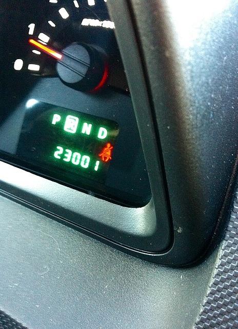 23,001 on odometer