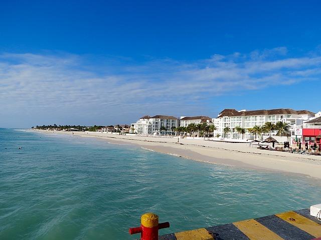 Beach at Playa de Carmen