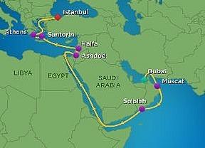 15 Nts. Suez Canal Cruise