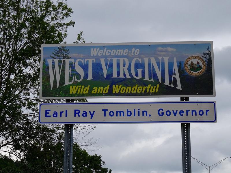 Rest Area in Hurricane, West Virginia