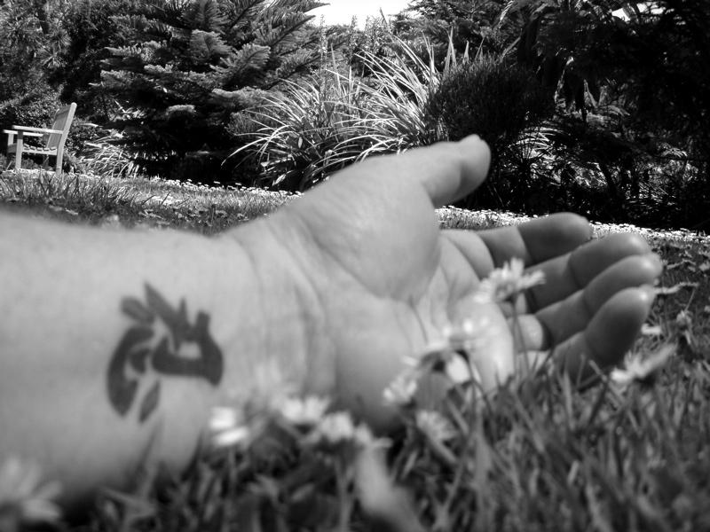 Me - The hand nearly asleep