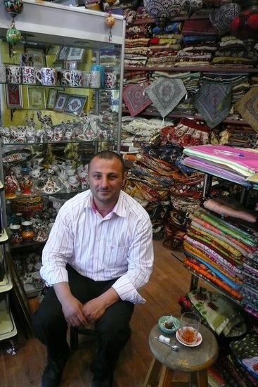 Mehmet in his store