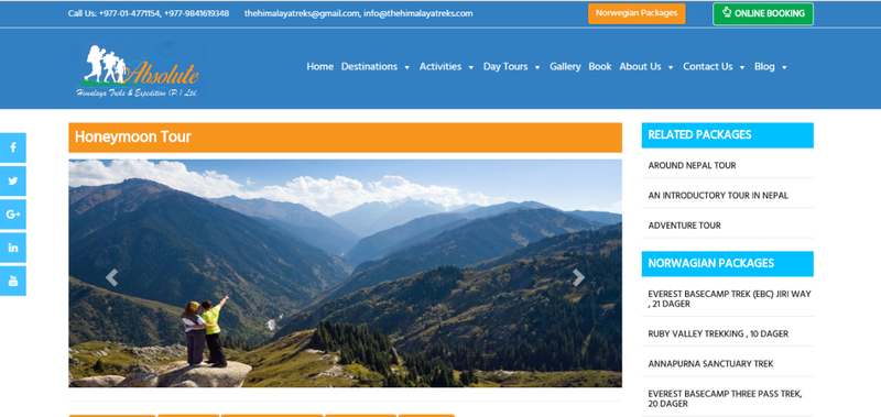 Cheap honeymoon Tour in Nepal
