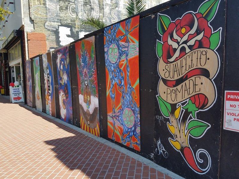 Street art Santa Ana