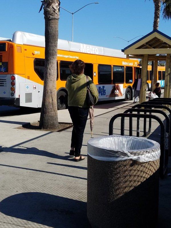 MTA bus LA