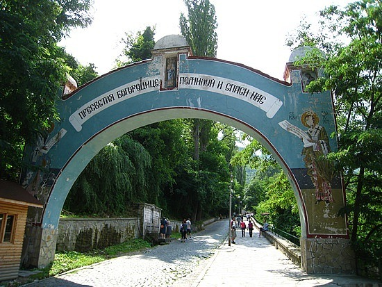 Heading to the Monastery