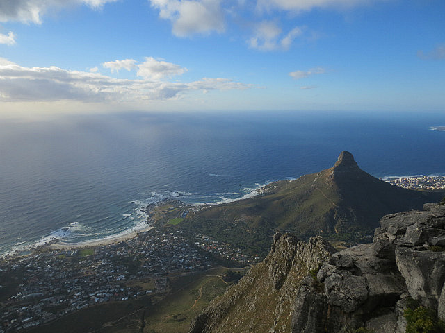 View From Table Mountain - The Lion's Head