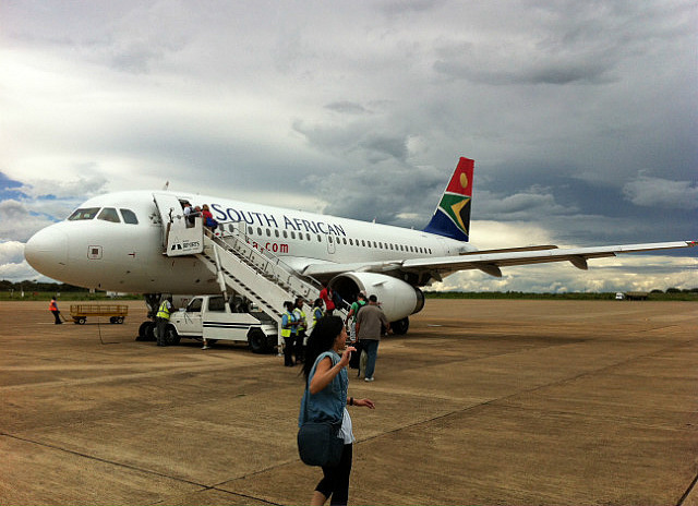 Leaving Zambia for South Africa