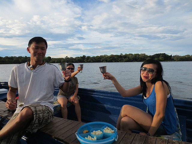 Sunset Drinks on a Zambezi Sunset Cruise