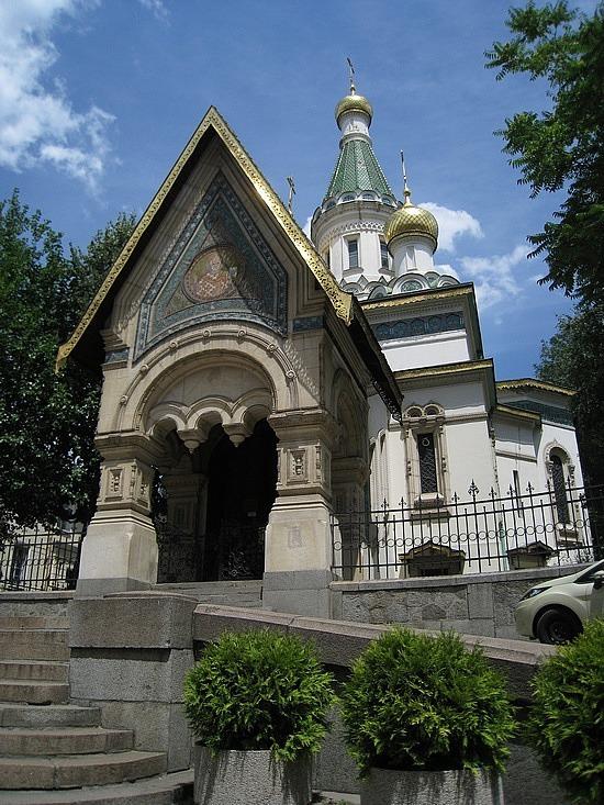 Sveti Nikolai - Cute Little Russian Church