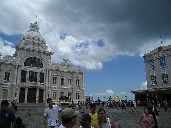 Palacio Rio Branco, Praca Municipal