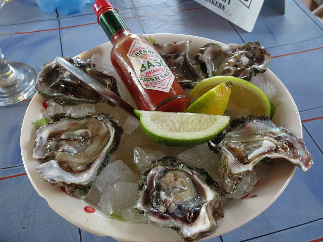 Knysna is Famous For Oysters ...
