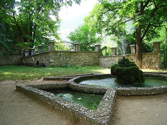 Monastery Garden, Perfect For Chilling