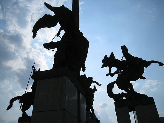 Veliko Tarnovo's Monument of the Asens ...