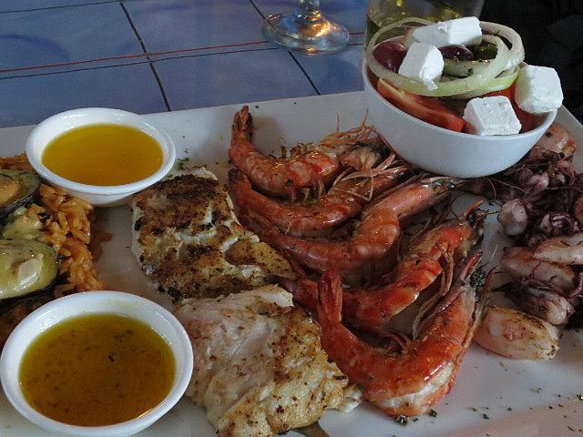 Seafood Platter ...