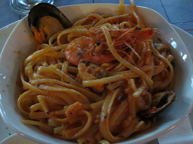 Seafood Pasta ...