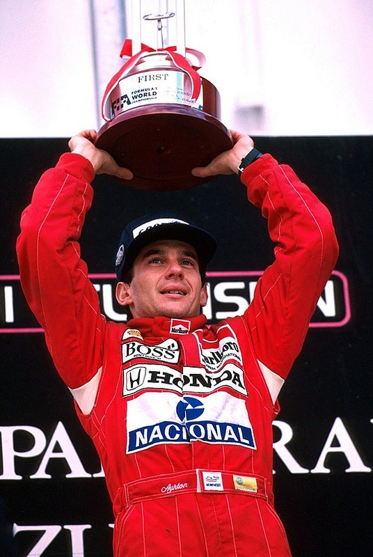 Ayrton Senna, Three Time Formula One World Champ