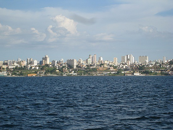 View of Salvador From the Ferry to Itaparica