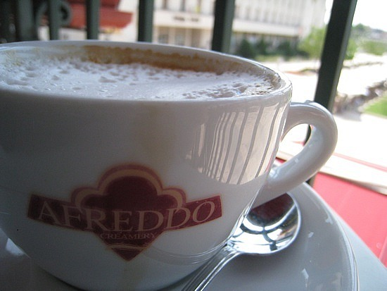 Ice Coffee Was So Good, Had to Try a Cappuccino ..