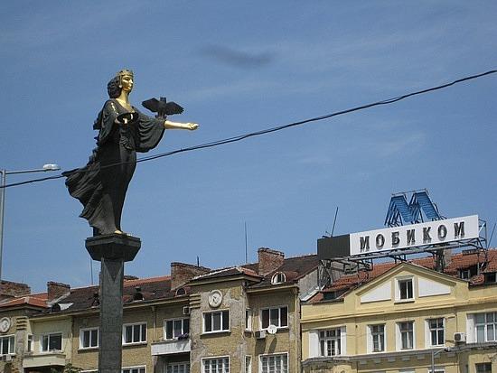 Statue of Saint Sofia ...