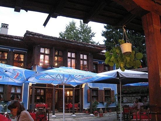 Courtyard of Restaurant Diyado Liben