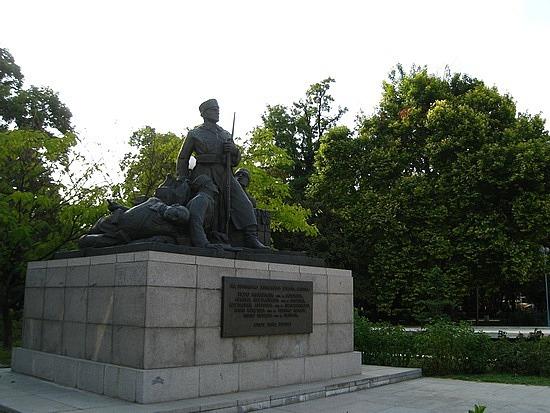 Soviet Propaganda Statue