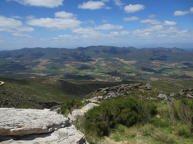 Top of the Swartberg Mountains