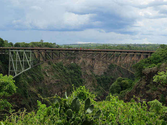 Bridge Between Zambia and Zimbabwe