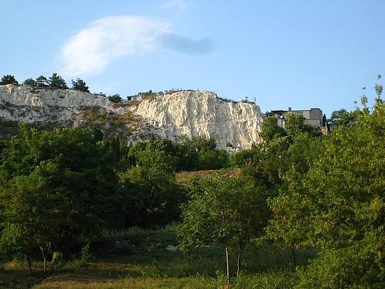 Chalky White Cliffs Above Balchik