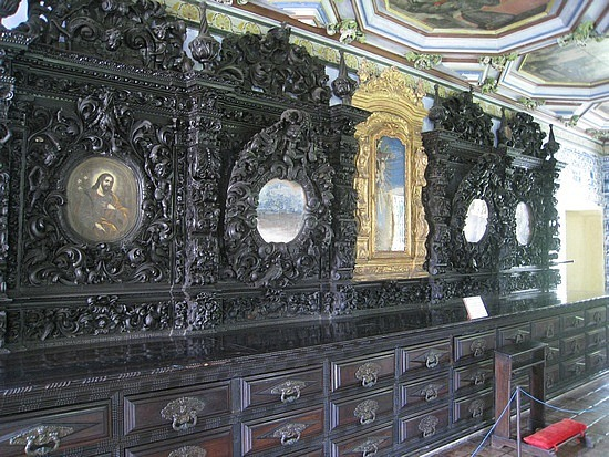 Intricate Wood Carving, Brazilian Baroque Style