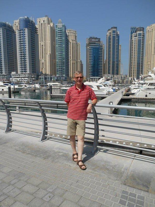 Alan at Dubai Marina