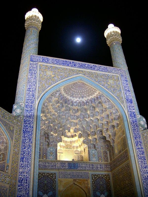 Moonlit Emam Mosque