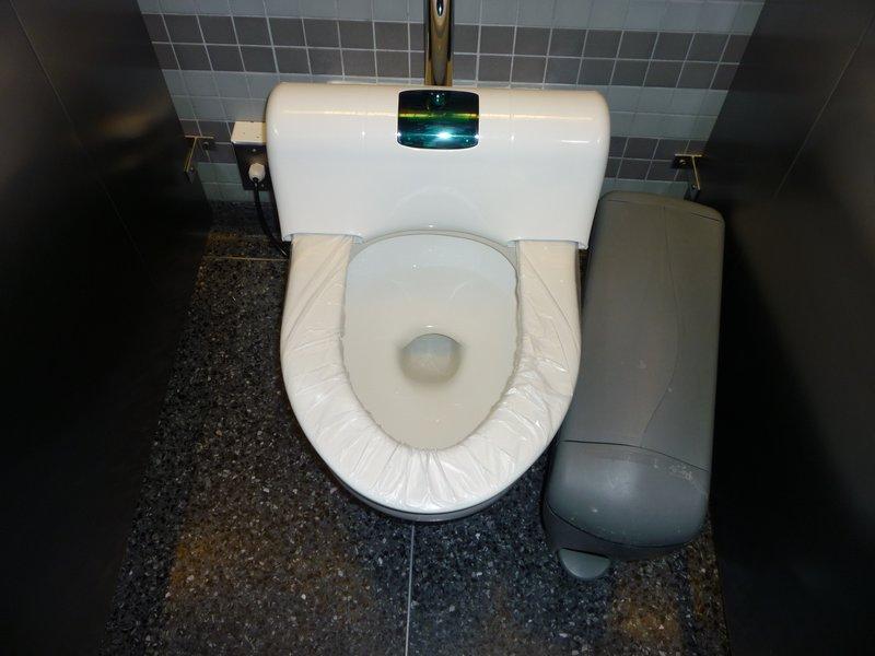 Interesting toilet
