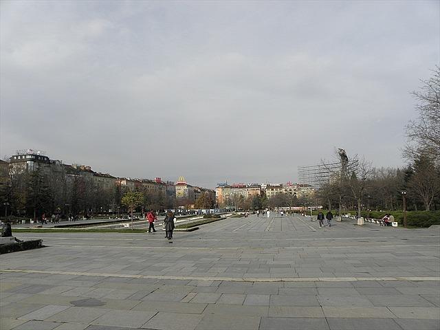 Main square, Sofia, Bulgaria
