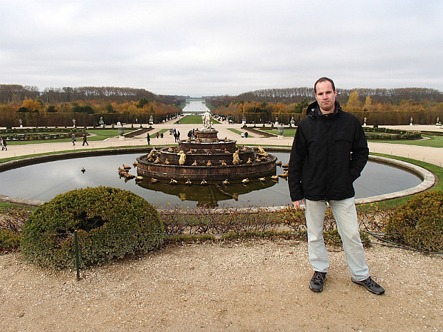 Gardens of the palace at Versailles