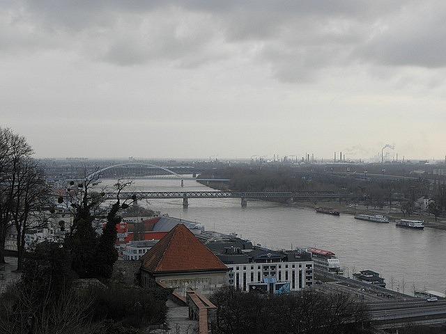 View over Bratislava