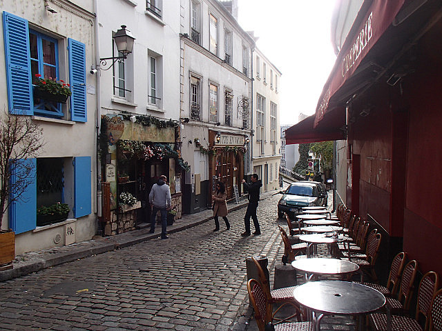 Streets of Mont Martre